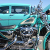 """My '92 Sportster and '57 Chevy."" - Joe Bruno of Staten Island, N.Y."