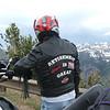 Monty McIntyre contemplating Beartooth Pass, Montana. - Charlotte McIntyre of Ravenswood, W.Va.