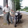 """""""I met R. Lee Ermey when he was filming an episode at the Yankee Siege trebuchet  <a href=""""http://www.yankeesiege.com"""">http://www.yankeesiege.com</a> in Greenfield, N.H. He knows a lot about old Beemers. That's my daily rider -- a 1968 BMW conversion bike with a later 800cc /5/6/7 engine/transmission drivetrain combination. - Robert Bendix of Brookline, N.H."""