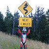 """""""Darrell Riley, Wyoming Highway 296 Chief Joseph Highway. It's 90 miles if you go over Beartooth Pass, 212 to Redlodge, Mont. Oh, and they repaved most of the Wyoming side of the Beartooth Pass last year!! it's way awesome not to have to watch for potholes anymore."""" - Darrell Riley of  Cody, Wyo."""