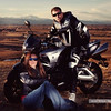 """""""Shot taken in Broomfield, Colo. AMA Members Rob and Mandi Erichson. Rob rides a 2008 Suzuki B-King and Mandi rides a 2003 Kawasaki Ninja 500. They also own a 1986 Honda VFR Interceptor, and a 1969 Honda Scrambler. They love spending time with their five daughters, the outdoors, and enjoying the amazing scenery on a relaxing motorcycle ride."""" - Rob Erichson of Broomfield, Colo."""