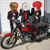 """""""Here's a picture of my 1978 BMW R80/7 with my band, The Soulphonics  <a href=""""http://www.the-soulphonics.com"""">http://www.the-soulphonics.com</a>.  In addition to our regular gigs, the band played at the October Houston BMW club rally and for the second year in a row, will play for the annual Lone Star BMW-Triumph Holiday Party for their customers. The Soulphonics have a timeless sound, just like my BMW! - Glen Worley of Elgin, Texas."""