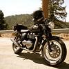 """""""Brit Iron Rebels Arizona in Yosemite. This Thruxton belongs to Triple Deuce."""" - Jeff Holmes of Gilbert Ariz."""