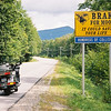 """""""Along the Kancamagus Highway (Route 112), in the White Mountain National Forest in New Hampshire, on my way to ride up Mt. Washington."""" - Russell Steinmetz of Gettysburg, Pa."""