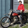 """""""1972 Bultaco Pursang MK6 350 with second-generation rider. (I rode this same bike when I was my son's age.) - David M. Rowe of East Aurora, N.Y."""