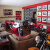 """""""I'm sending a picture taken inside my house where i keep a collection of my motorcycles."""" - Peter Calles"""