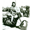 Gloria Tramontin Struck on her 1940 Scout. Photo taken in 1945 when she was 19. -  Lori DeSilva of Clifton, N.J.