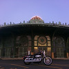 """""""This is a shot of my scoot ('07 HD XL883C) in front of the old carousel house on the boardwalk in Asbury Park, N.J. While this area has suffered greatly over the last 20 years, its great to see it benefiting from its current resurgence. I grew up here and as a kid I would spend countless days here during the summers."""" - Nate Rudy of Elberon, N.J."""