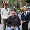 "Fellow Iowan Dan Kleen, president of the National Off-Highway Vehicle Conservation Council meets motorcycling icons and AMA Motorcycle Hall of Famers Melbourne ""Mike"" and Margaret Wilson at the 2009 AMA Motorcycle Hall of Fame Concours d'Elegance in Las Vegas on Dec. 5. - Dan Kleen, Pocahontas, Iowa"