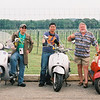 """""""By a vineyard in the Texas Hill Country: Rick Perkins (R), Harley Espinoza (Middle) and myself (L)."""" - Oscar Adrian Montes Iga of Austin, Texas."""
