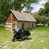 """""""This image was captured in Circleville, Utah in front of Butch Cassidy's former cabin."""" - Todd Abbotts."""