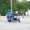 """""""No, thats not siamese twins, but they are twins. Kile and Emily, age 8, in the sidecar, big sis, Sara, 12, behind dad, Greg. Taken at the Miracle Ride benefit for Rileys Childrens Hospital in<br /> Indianapolis, June 2010."""" - Greg Judy of Millersburg, Ind."""