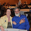 """Photo of AMA Government Relations Manager Imre Szauter and Jennifer Ross of the Motorcyclists Confederation of Canada) at the 2009 Motorcycle Riders Foundation """"Meeting of the Minds."""" - Joseph Heh of Pennsylvania."""