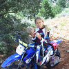 """My 9-year-old daughter, Carly. We had just completed a 90-mile ride from Mesquite, Nev., to the Bar 10 Ranch near the rim of the Grand Canyon. It took Carly 9-1/2 hours to make the trip on her TTR-90. She was pretty exhausted and took a truck back the next day but the memories will last forever. Thanks to Big Bear Trail Riders for sponsoring the club ride."" - Dave Harlan of Yorba Linda, Calif."