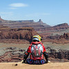 """During a ride on the White Rim trail in Moab, Utah, I came across an irresistible sitting spot. Gazing out in to the canyon, I knew it was worth the ride to get here."" - Jeff Champion of Douglasville, Ga."