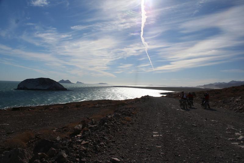 """Alan Kraemer and friends on our way to Bay San Luis Gonzaga, Baja, Mexico."" - Alan Kraemer of Apple Valley, Calif."