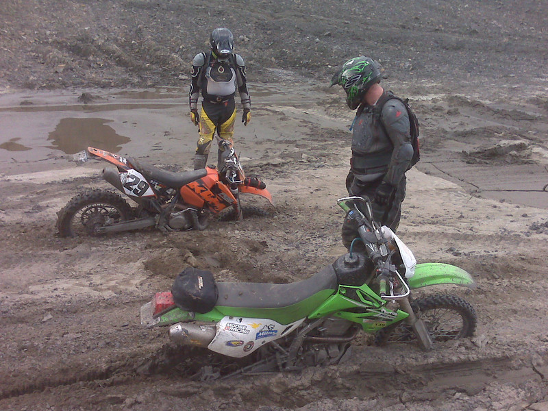 """""""There's sand and then there's quicksand. Myself and my buddy, Pete, out<br /> playing on the weekend."""" - Colin Barton of Maspeth, N.Y."""