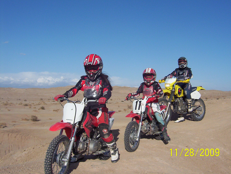 A photo of my daughter, Elena, with two other sisters from Ocotillo, Calif. - Leo Ramirez of Vista, Calif.