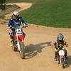 """Myself and my 5-year-old son, Brandon, at a practice track in Grafton, W.V."" - James Slaughter  of Fairmont, W.V."