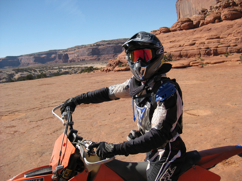 """""""On a ride into Moab, Utah, it was sometimes as though we were riding on Mars!"""" - Brian Cook of Smithtown, N.Y."""