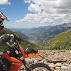 """2010 Colorado 500 dirt bike ride. Blackbear Pass looking down toward Telluride."" - Scott McKay"