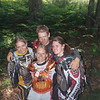"""Danielle Dunbar (center) and friends. Michigan Cycle<br /> Conservation Club Kids Camp."" - Tammy Shire"