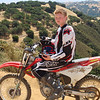 """Eric Hess taking a break from trail riding at Hollister Hills OHV in California. - Carl Hess of Foster City, Calif."