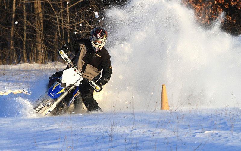 """""""Dylan Debel shows that Minnesota winters don't slow him down."""" - Mike Pohl of St. Paul, Minn."""