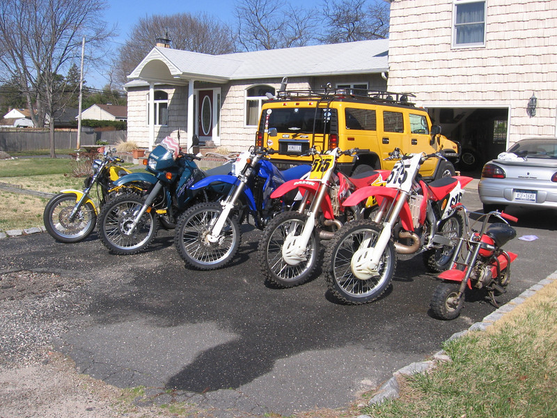 """""""All my bikes, including my favorite, which was my first bike --1972 QA 50."""" - John Graham"""