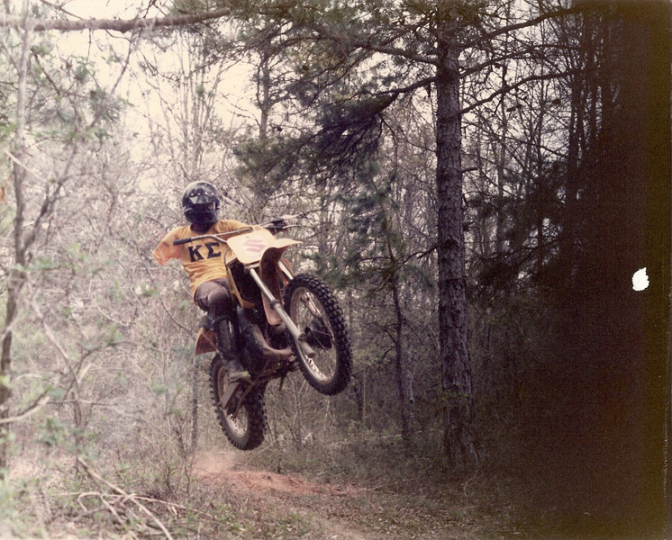 """""""I was riding my 1982 Suzuki RM 250. I'm now 51 and living in New Jersey and I ride a 1985 Suzuki RM250. I can't wait until I'm 61 maybe by then I will have a 2001 Suzuki RM250! I may have lost my arm but I have'nt lost my desire to ride."""" Kevin Fields of Jackson, N.J."""