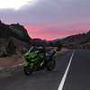 Sunset of the North Fork Highway out of Cody,Wyo., heading towards Yellowstone park in late fall. - Brian Swanson, Cody,Wyo.