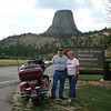 """Picture from a great two-week bike trip with my wife, Susan, from Harrisburg, N.C. to Kansas, Colorado, Wyoming, South Dakota and back."" - Clarence Wensel Jr. of Harrisburg, North Carolina."