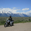 Lance Maddux of Yuba City, Calif., at the Grand Tetons in Wyoming.