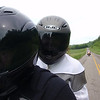 """""""Here is my wife, Michele, and I riding in rural Kentucky during the Eurofest rally out of Burksville, Ky. I love the genuine smile on her face just visible through the face shield. What a great ride that was. Also, on the BMW F650 behind us is my sister, Angela."""" - Mike Kramer, Franklin, Tenn."""