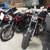 """Just a few pictures of my bikes. I am currently restoring a 1972 Yamaha 650 XS and a 1972 125 Yamaha Enduro electric start. I have restored two 350 Yamaha's, the Little Giant Killers a 1974 and a 1972. My list of bikes is: 1972 Yamaha 650 XS, 1000 CBR Honda (my son's), 1972 Yamaha 125 Enduro, 200 XR Honda (my wife's), 1972 Yamaha 350, 1000 R1 Yamaha  (my son's), 1974 Yamaha 350, 250 WR Yamaha (my daughter's), 1979 Yamaha XS 1100, 2007 Yamaha 1300 V Star, 2004 Yamaha WR 450 that I race in the over 50 Class, AMA Hare and Hound Series. My passion started for motorcycles 42 years ago when my friend got a minibike. Now I restore bikes and race with my two son's and my daughter."" - Ted Unsworth of Utah"
