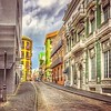 Cathy Locklear-Old Town in San Juan