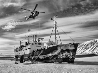 Taken in Svalbard