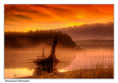 Viking Boat at Blessington