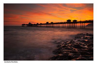 Lllandudno Pier, Wales
