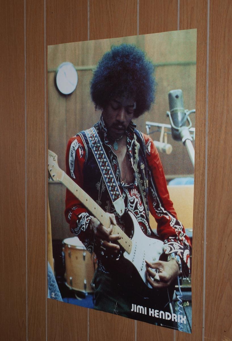 The Jimi Hendrix Poster
