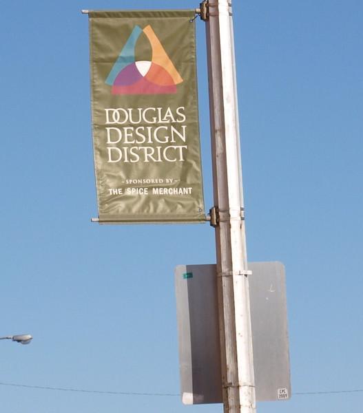 Douglas Design District on Douglas & Grove