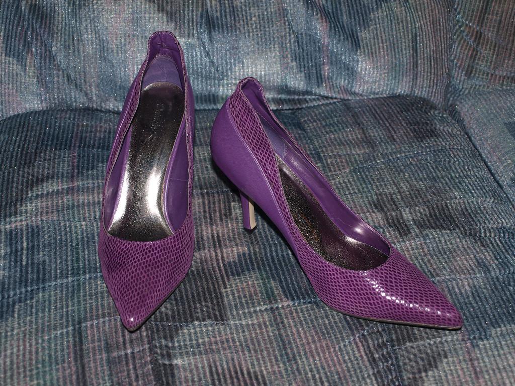 Purple High Heels 1