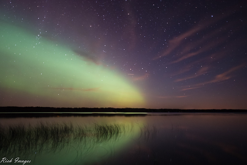 Northern Lights Reflection