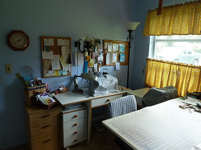 Our Sewing Rooms