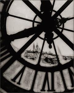 Paris Through the Clock