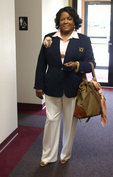 Sis. Downing is standing out!!!