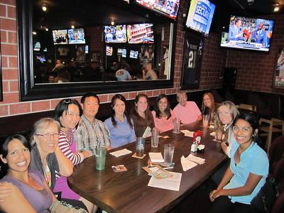 September 2013 Networking Event Bull Pen Bar & Grill