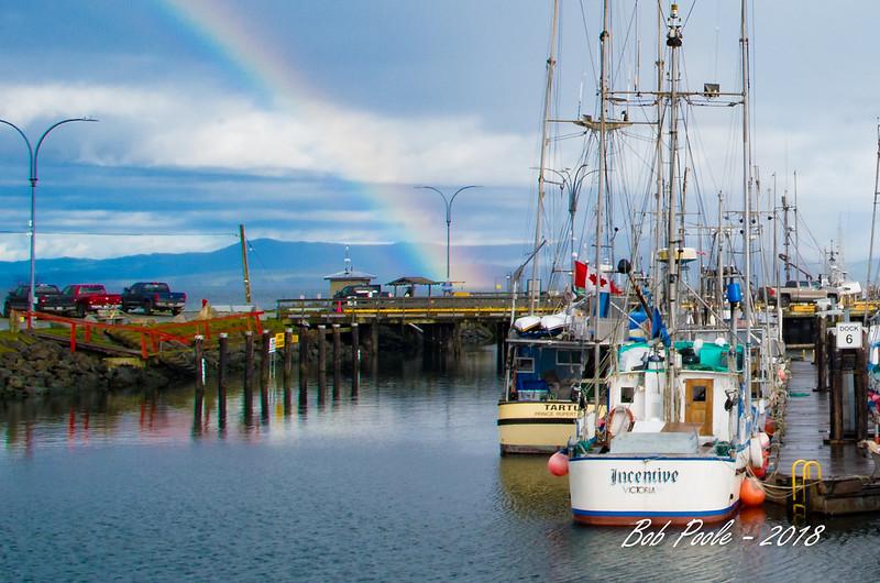 French Creek Marina Rainbow
