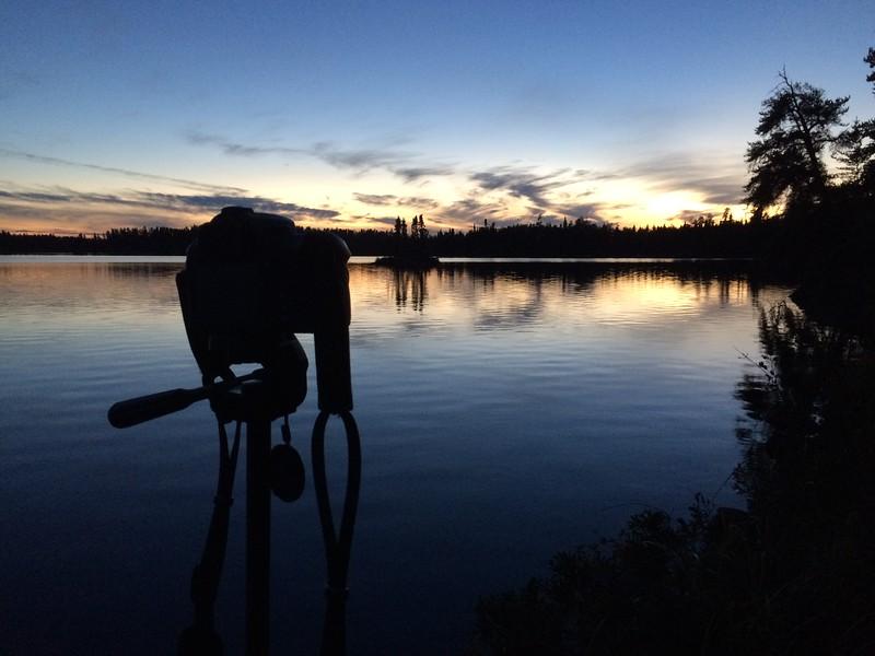 Davidson Lake sunset