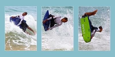 Surfer Triptych